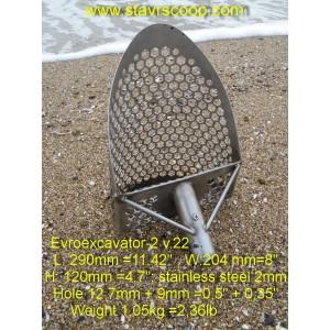 Sand scoop EVROEXCAVATOR-2 V.22