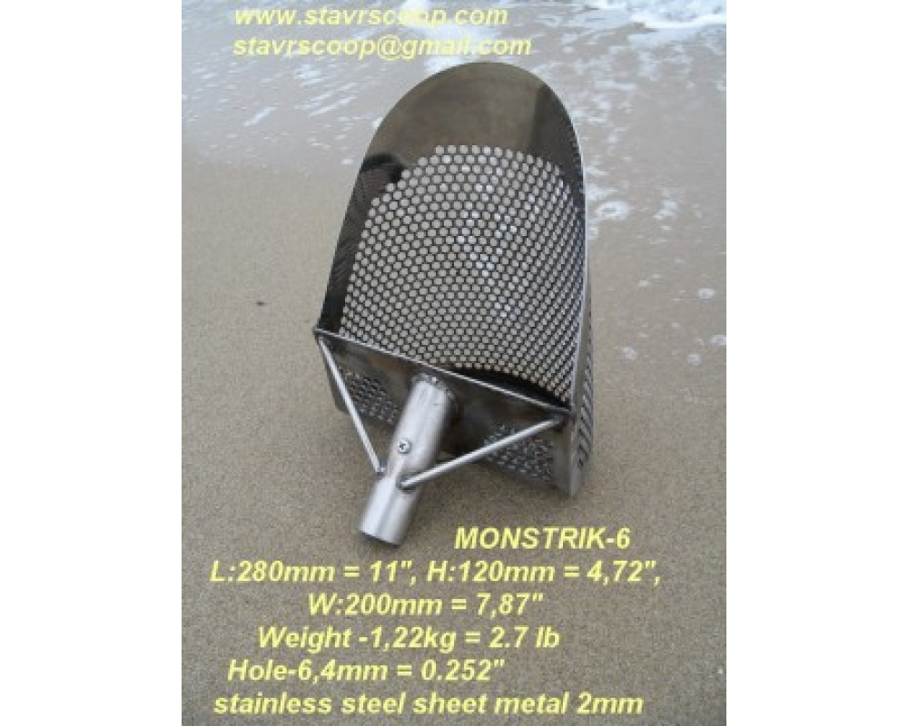 SAND SCOOP MONSTRIK-6