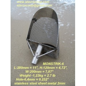 SAND SCOOP MONSTRIK-6 (Production temporarily discontinued)